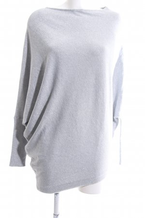 Orsay Oversized Sweater light grey-silver-colored casual look
