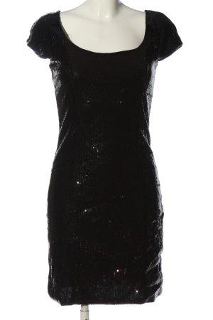 Orsay Abito con paillettes nero effetto bagnato