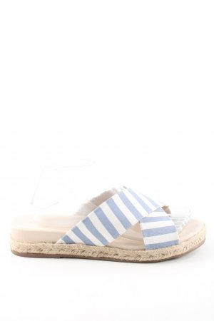Orsay Plateau-Sandalen Streifenmuster Casual-Look