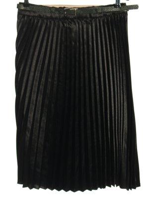 Orsay Plisowana spódnica czarny W stylu casual