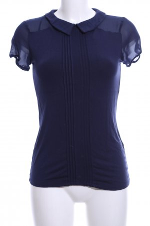 Orsay Polo Top blue business style