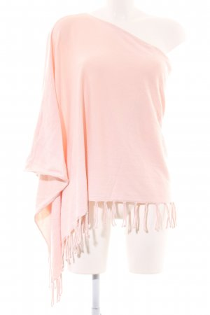 Orsay Poncho pink casual look