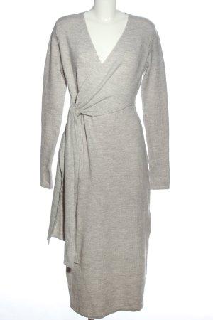 Orsay Abito maglione grigio chiaro puntinato stile casual