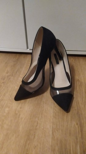Orsay Pumps schwarz transparent Gr. 39