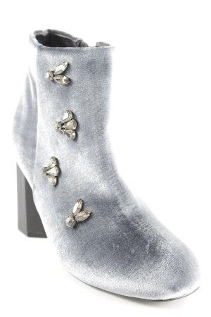 Orsay Reißverschluss-Stiefeletten blassblau Party-Look