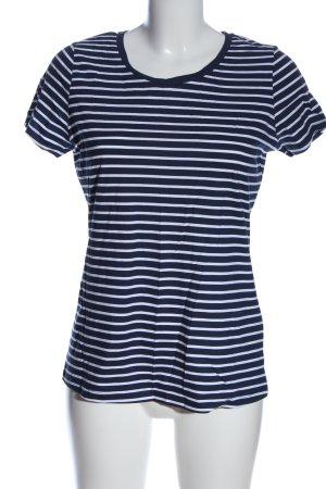 Orsay Ringelshirt blau-weiß Streifenmuster Casual-Look