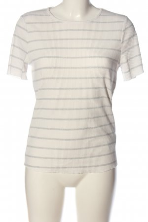 Orsay Ribbed Shirt white-light grey allover print casual look