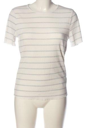 Orsay Geribd shirt wit-lichtgrijs volledige print casual uitstraling