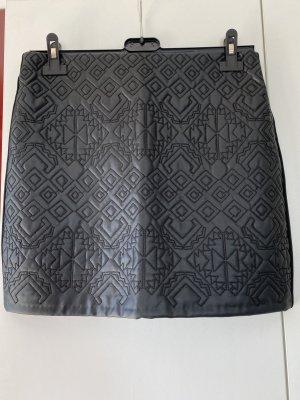 Orsay Spódnica ze stretchu czarny