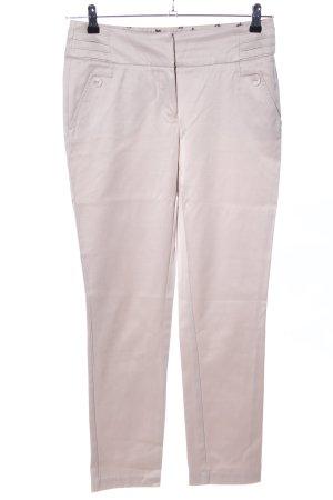 Orsay Pantalón de tubo crema look casual