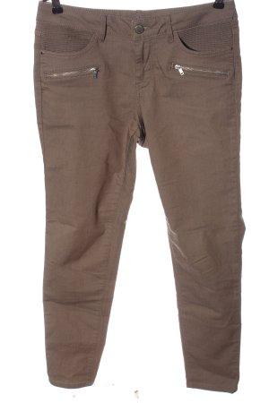 Orsay Jeans a sigaretta marrone stile casual
