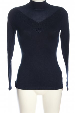 Orsay Turtleneck Sweater blue casual look