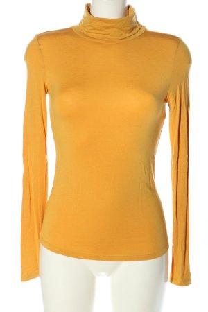 Orsay Camisa de cuello de tortuga amarillo pálido look casual