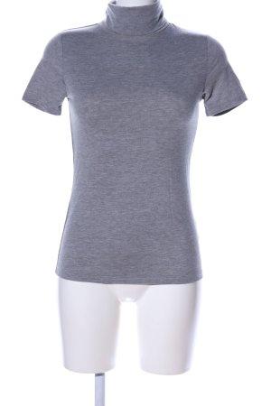 Orsay Turtleneck Shirt light grey flecked casual look