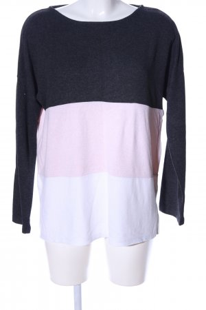 Orsay Kraagloze sweater gestreept patroon casual uitstraling