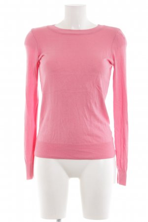 Orsay Rundhalspullover rosa Casual-Look