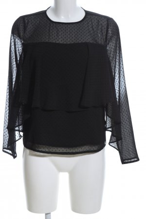 Orsay Slip-over Blouse black allover print casual look