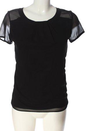 Orsay Schlupf-Bluse schwarz Casual-Look