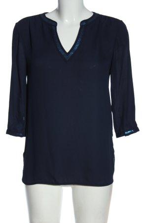 Orsay Schlupf-Bluse blau Casual-Look