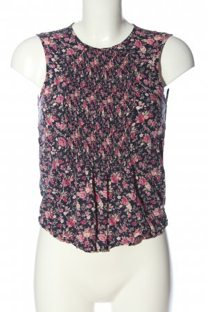 Orsay Slip-over Blouse blue-pink allover print casual look