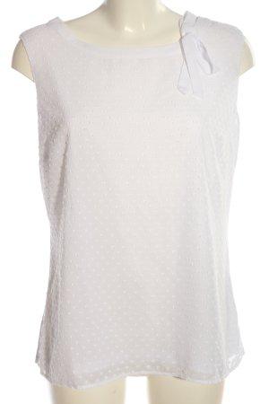 Orsay Blouse avec noeuds blanc style décontracté