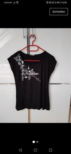 Orsay Shirt Gr. S Schwarz