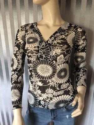 Orsay Camicia a tunica nero-bianco
