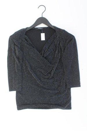Orsay Shirt mit Glitzerfasern schwarz Größe M