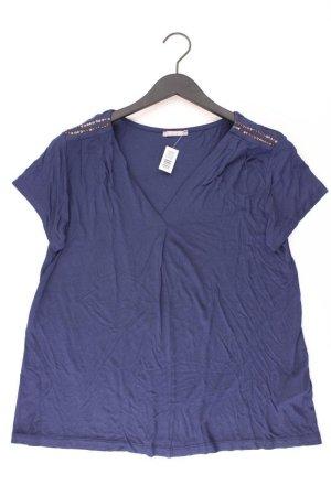 Orsay T-shirt col en V bleu-bleu fluo-bleu foncé-bleu azur viscose