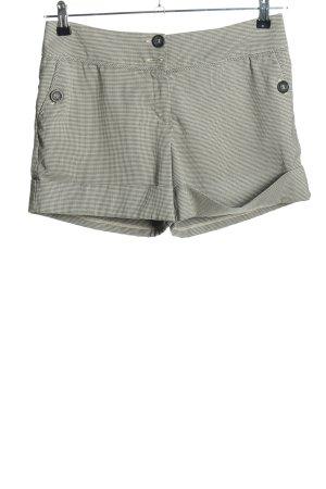 Orsay Shorts creme-schwarz Allover-Druck Casual-Look