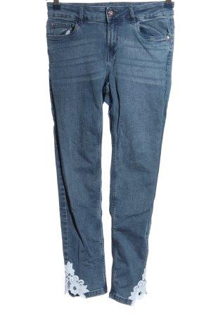 Orsay Skinny Jeans blau Casual-Look