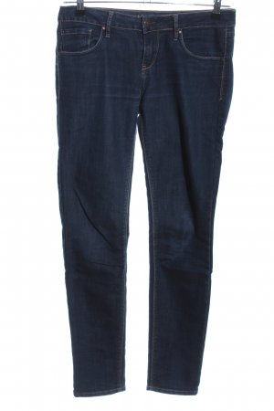 Orsay Slim Jeans blau Casual-Look