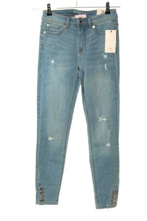 Orsay Slim Jeans blau Casual-Look
