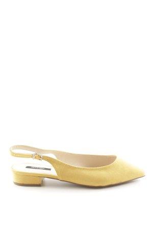 Orsay Ballerina aperta sul tallone giallo pallido stile casual