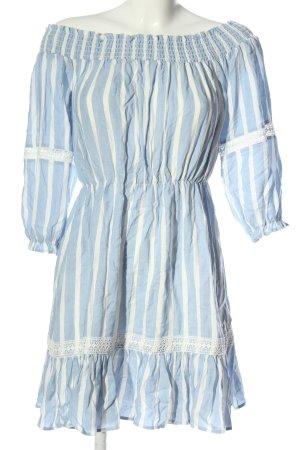 Orsay Sommerkleid blau-weiß Streifenmuster Casual-Look