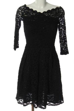 Orsay Spitzenkleid schwarz Elegant