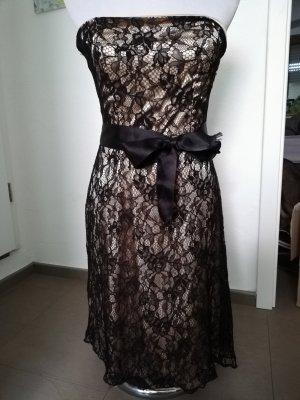 Orsay Bandeau Dress black-gold-colored
