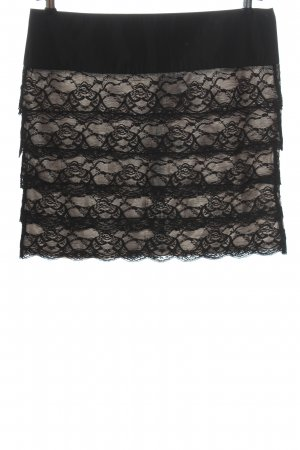 Orsay Lace Skirt black-cream casual look
