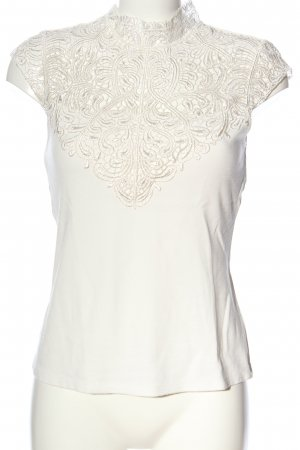 Orsay Stand-Up Collar Blouse white casual look