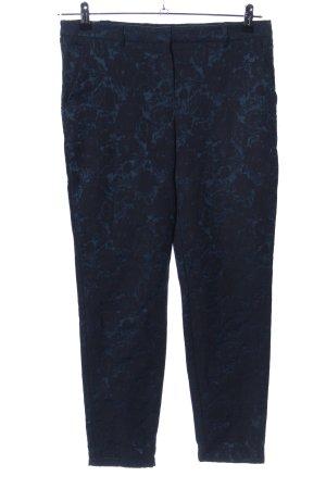 Orsay Stoffhose blau Allover-Druck Casual-Look