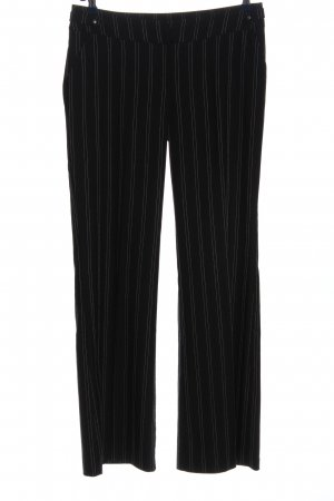 Orsay Stoffhose schwarz-weiß Allover-Druck Business-Look