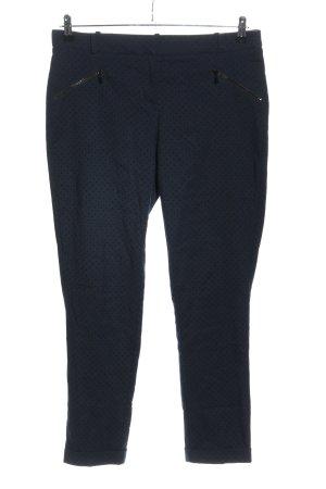 Orsay Stoffhose blau Allover-Druck Business-Look