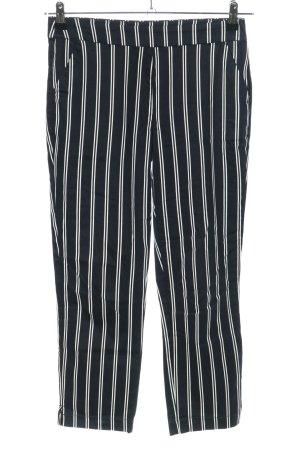 Orsay Stoffhose schwarz-weiß Streifenmuster Casual-Look