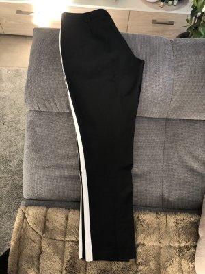 Orsay Stoffhose Business schwarz/weiß