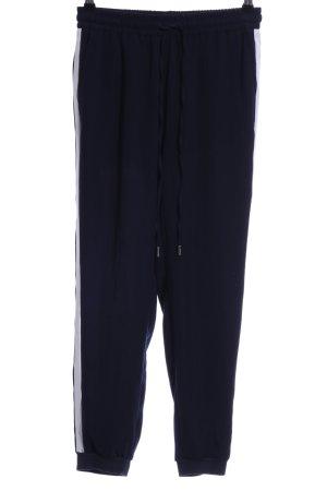 Orsay Stoffhose dunkelblau-weiß Casual-Look