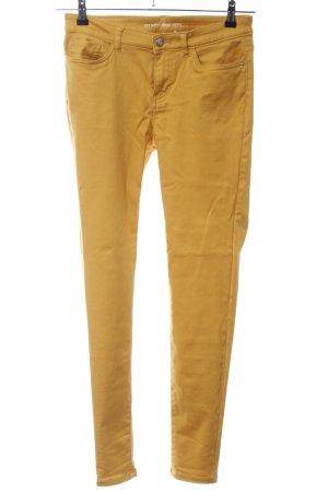 Orsay Pantalon strech orange clair style décontracté