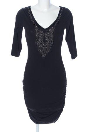 Orsay Stretchkleid schwarz Elegant