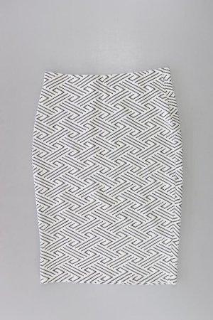 Orsay Stretchrock Größe M weiß aus Baumwolle