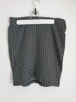Orsay Stretch Skirt white-black