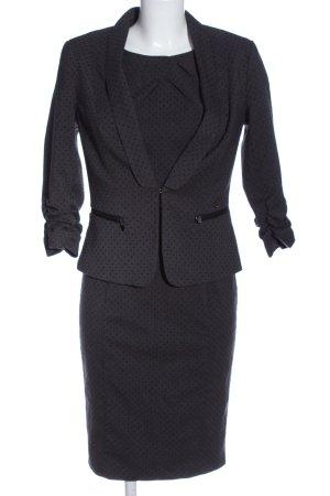 Orsay Ensemble en tricot noir motif de tache style d'affaires